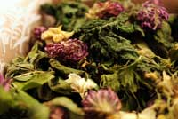 Ready herbs for tea